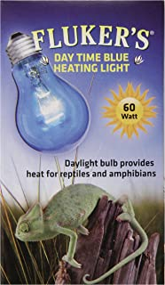 Fluker's Reptile Incandescent Daylight Bulb for Pet Habitat, Blue