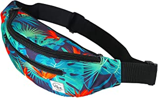 Vibe Fanny Pack for Women and Men Cute Fashion - Waist Pack Belt Bum Bag Purse for Festival Rave Travel