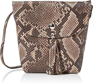 TOM TAILOR Umhängetasche Damen Ida Snake, 17x16x4.5 cm, TOM TAILOR Handtaschen, Taschen für Damen