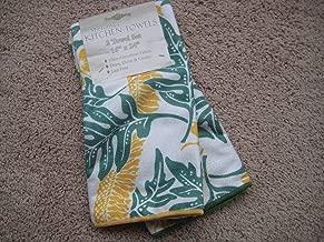 Microfiber Hawaiian Print Kitchen Towels, Set of 2