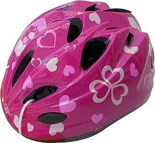 自転車 ヘルメット キッズ スタンダードモデル ハートピンク 46401 S (頭囲 48cm~52cm未満)
