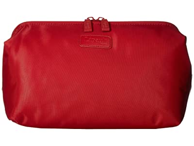 Lipault Paris Plume Accessories Toilet Kit (Cherry Red) Cosmetic Case