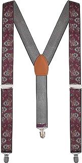 Sponsored Ad - Calvertt Mens Suspenders Y-shape Tuxedo suspenders for Casual&Formal