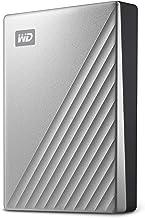 WD 4TB My Passport Ultra Silver Portable External Hard Drive, USB-C - WDBFTM0040BSL-WESN