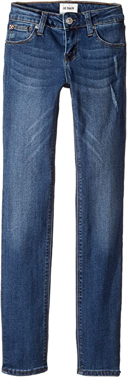 Christa Five-Pocket Skinny Jeans in Depth Charge (Big Kids)