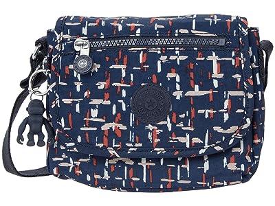 Kipling Sabian Crossbody Mini Bag (City Lights) Handbags