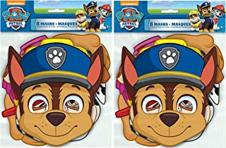PAW Patrol Party Masks, Assorted 8ct (2 pack)