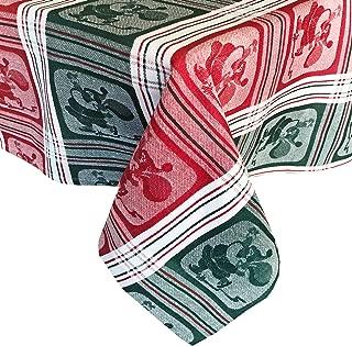 cotton christmas tablecloths
