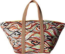 M Missoni - Mermaid Print Tote