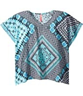 Seafolly Kids - Aztec Tapestry Kaftan (Little Kids/Big Kids)