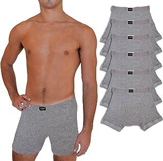 Andrew Scott Big & Tall - Calzoncillos de algodón para Hombre (6 Unidades), 6 Pack - Heather Gray, XXXXXX-Large