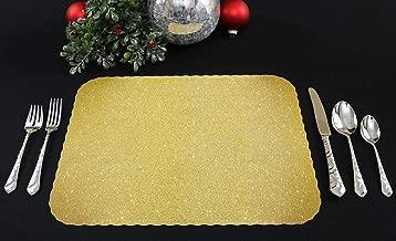 Best gold glitter paper placemats Reviews
