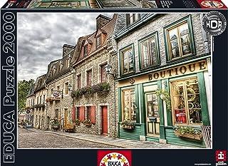 Puzzles Educa - Barrio Petit Champlain, Puzzle de 2000 Piezas (16012)