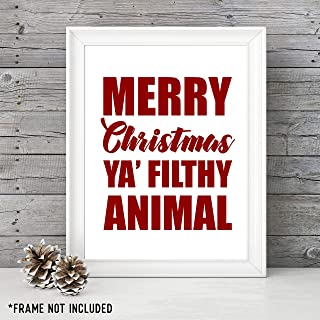 merry christmas ya filthy animal picture