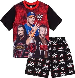 Boys WWE World Wrestling Short Pajama 6 7 8 9 10 11 12 Years Pj Pajamas
