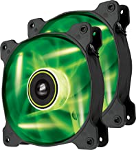 Corsair Air Series SP 120 LED Green High Static Pressure Fan Cooling - twin pack