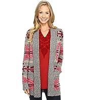 Lucky Brand - Intarsia Sweater Coat