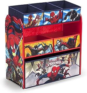 Delta Children 6-Bin Toy Storage Organizer, Spider-Man