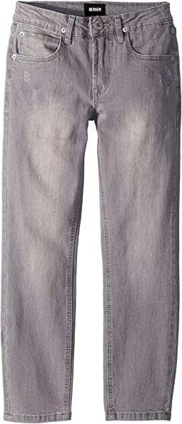 Jagger Slim Straight in Grey Cloud (Big Kids)