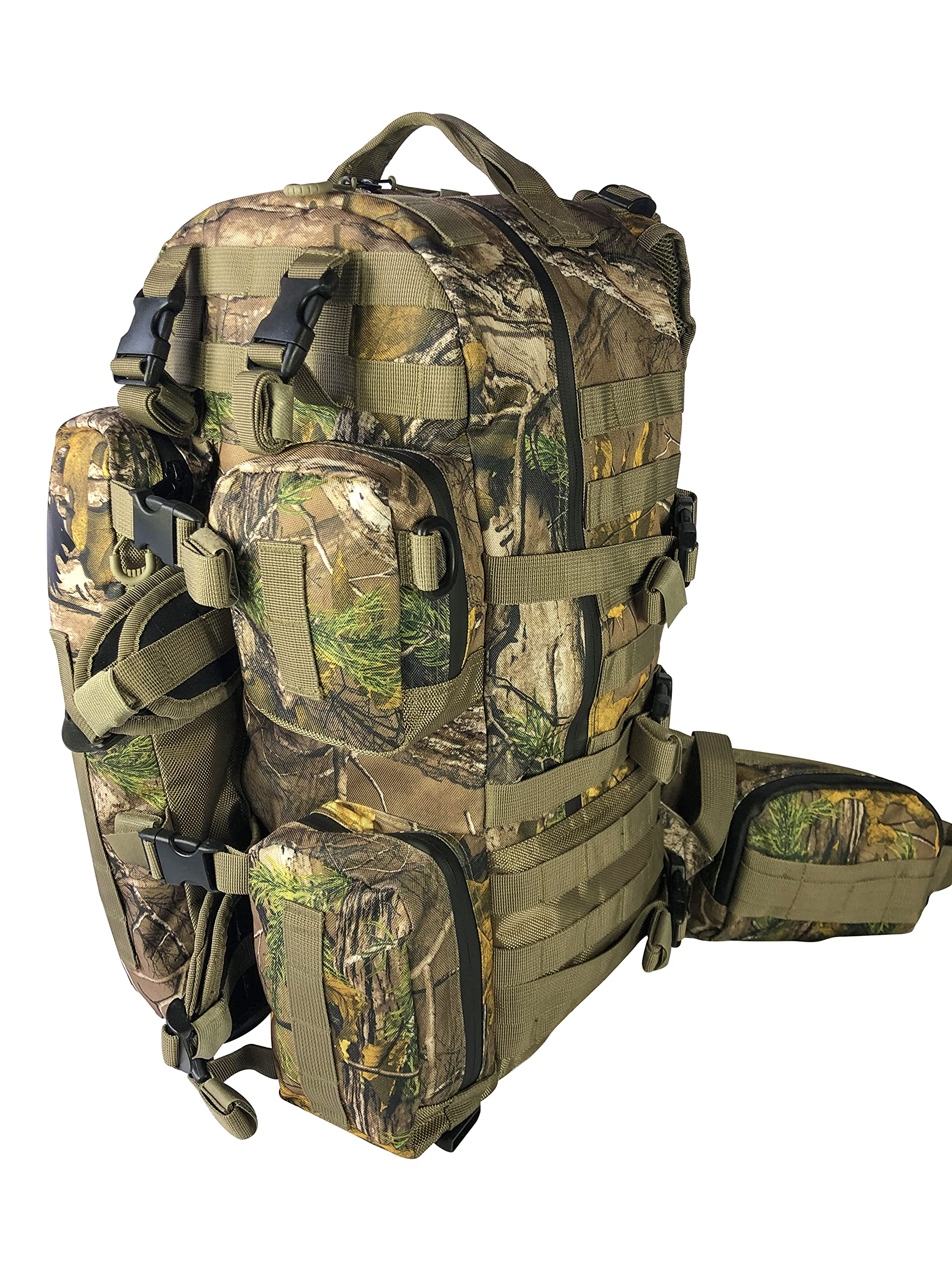 Backpack for Rifles, Bows, Crossbows, Muzzleloader, Hunting, Hiking, Archery, Blackpowder, Outdoors Expeditionary Alpha Pack by FIELDCRAFT
