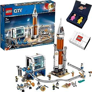 LEGO シティ 超巨大宇宙ロケットと指令本部とケニー&レニー宇宙ミニフィギュア スペシャルセット