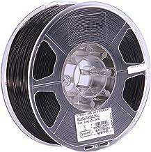 eSUN 1.75mm Black ABS+ 3D Printer Filament 1kg Spool (2.2lbs), Black