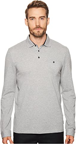 Ted Baker Scooby Long Sleeve Polo Shirt