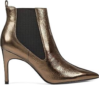 Nine West Women's Bootie Ankle Boot, Black, 4