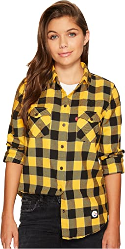 Levi's® Womens - Steelers Buffalo Western