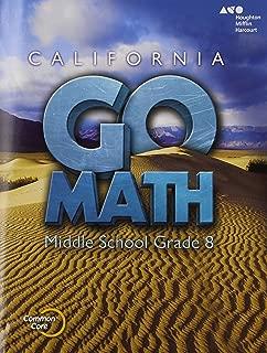 Holt McDougal Go Math!: Student Interactive Worktext Grade 8 2015