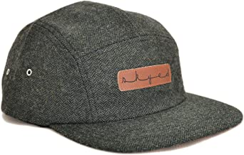 Skyed Apparel Premium 5 Panel Hat with Genuine Leather Strap (Multiple Colors)
