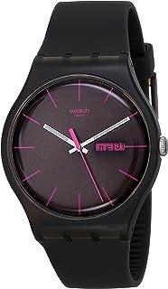 Swatch Men's SUOC700 Brown Rebel Unisex Watch