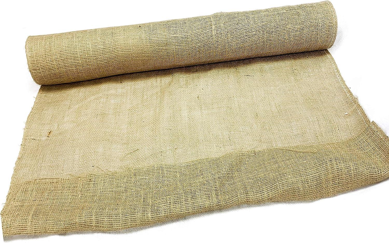 75 Atlanta Mall feet Long Burlap Fabric Very popular roll Jute- Light Weight inch Wide 36