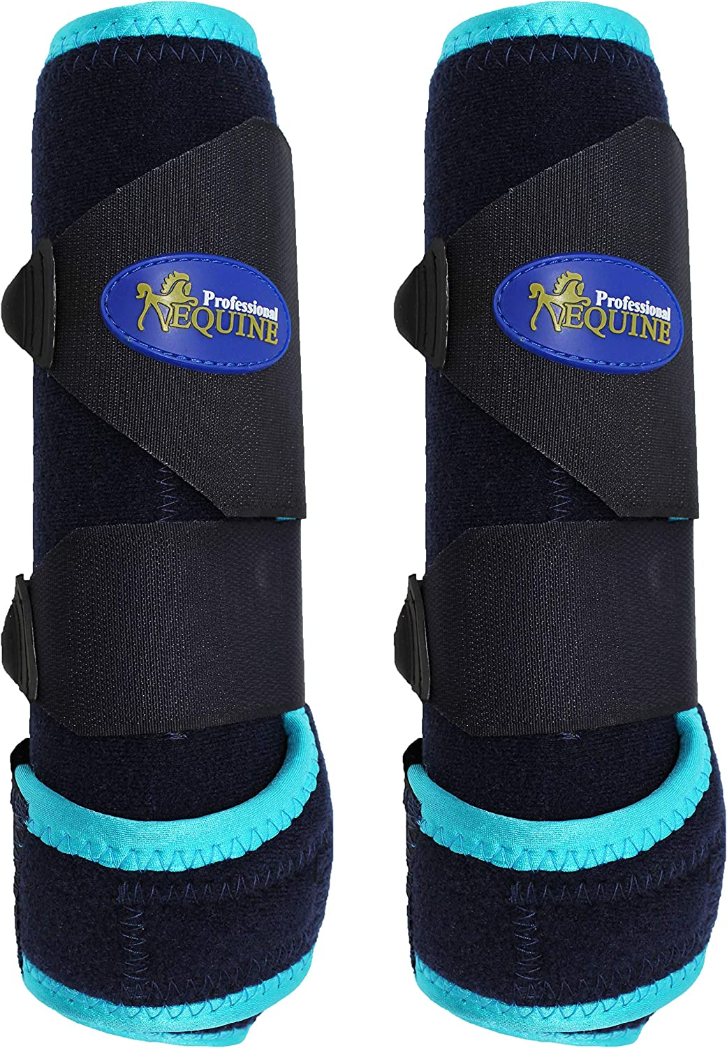 Horse Medium Professional Equine Sports Medicine Splint Boots 4128A