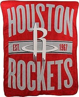 The Northwest Company NBA Houston Rockets Micro Raschel Throw, One Size, Multicolor