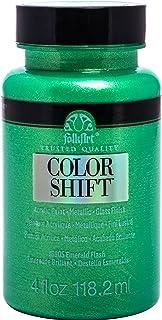 FolkArt 16905 Color Shift Emerald Flash Acrylic Paint, 4 Ounce, 4 Fl Oz