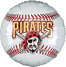 """Anagram International Pittsburgh Pirates Package Party Balloons, 18"""", Multicolor"""