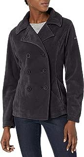 Columbia Women's Benton Springs Pea Coat, Black, Medium