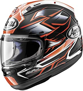 Arai Corsair X Ghost Red Full Face Helmet - Large