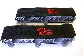 Rod Saver SM6 Vertical Mount Rod Saver, Holds (6) Rods, Black Finish