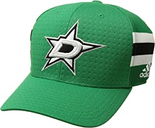 adidas NHL Dallas Stars Men's Pro Collection Draft Cap, Large/X-Large, Green