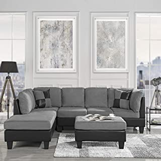 Amazon.com: Microfiber - Living Room Sets / Living Room ...