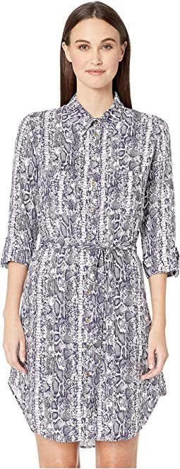 Cote D'Azur Relaxed Shirtdress