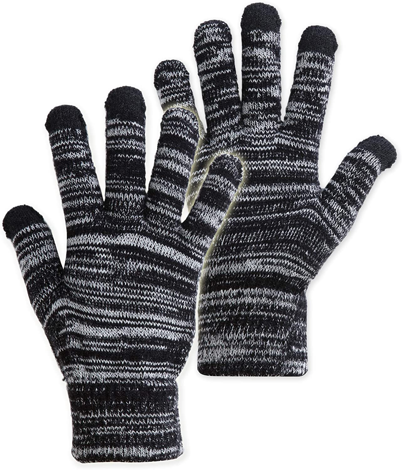Max 64% OFF Touch Screen Winter Knit Gloves Mag Thermal - Warm Lightweight Max 54% OFF