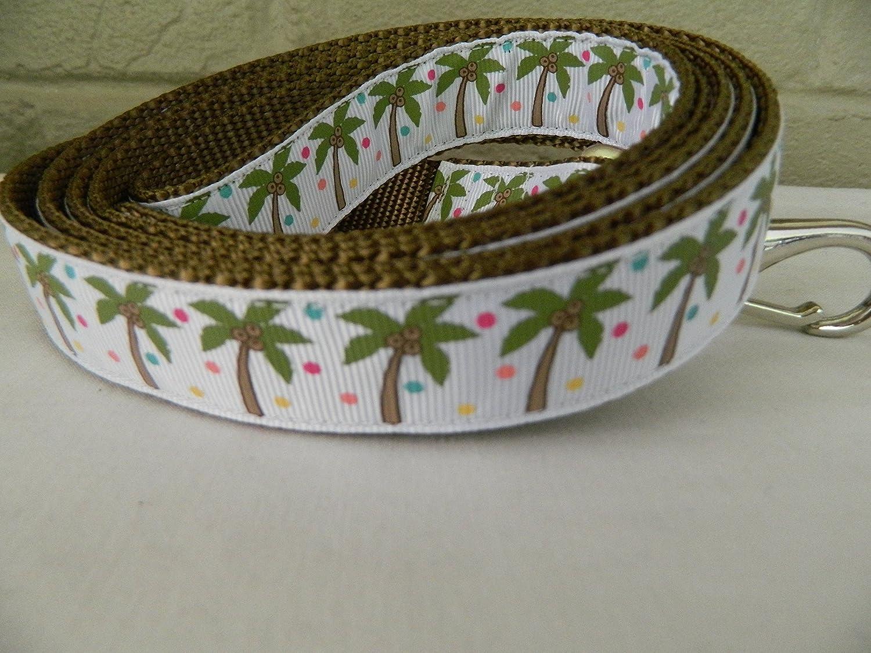 Schmoopsie Couture Palm Tree Dog Leash (1  x 60 )
