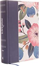 NIV, The Woman's Study Bible, Cloth over Board, Blue Floral, Full-Color, Red Letter:..