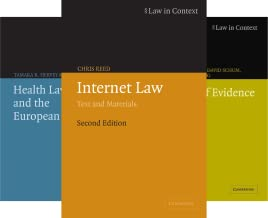 Law in Context (50 Book Series)