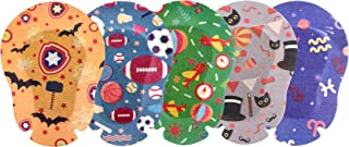 EGOOL Eye Patches for Kids, Treatment of Lazy Eye (Amblyopia), 5 Cute Colorful Patterns, 50 Pack Individually Wrapped, Regular Size for Boys