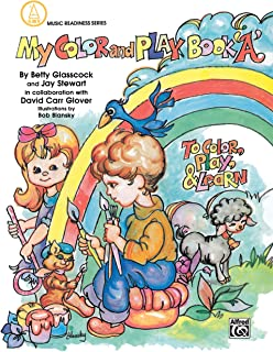 My Color and Play Book, Book a