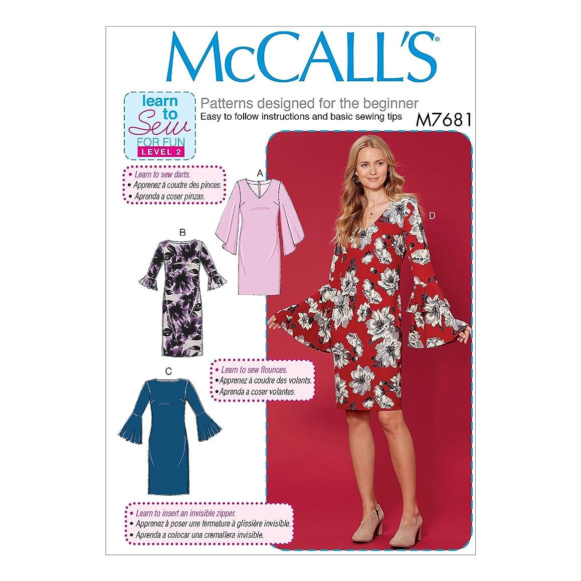 McCall's Patterns M7681E50 Misses' Dresses